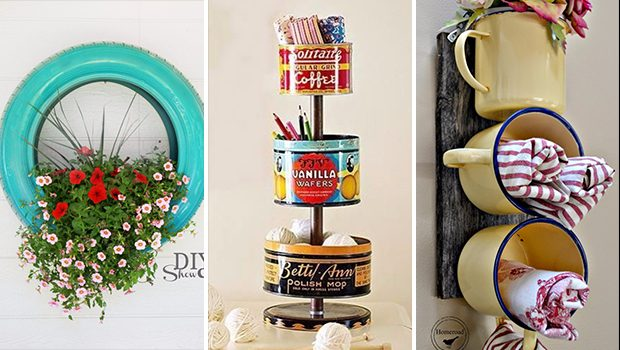 15 Brilliant DIY Ideas That Turn Trash Into Treasure