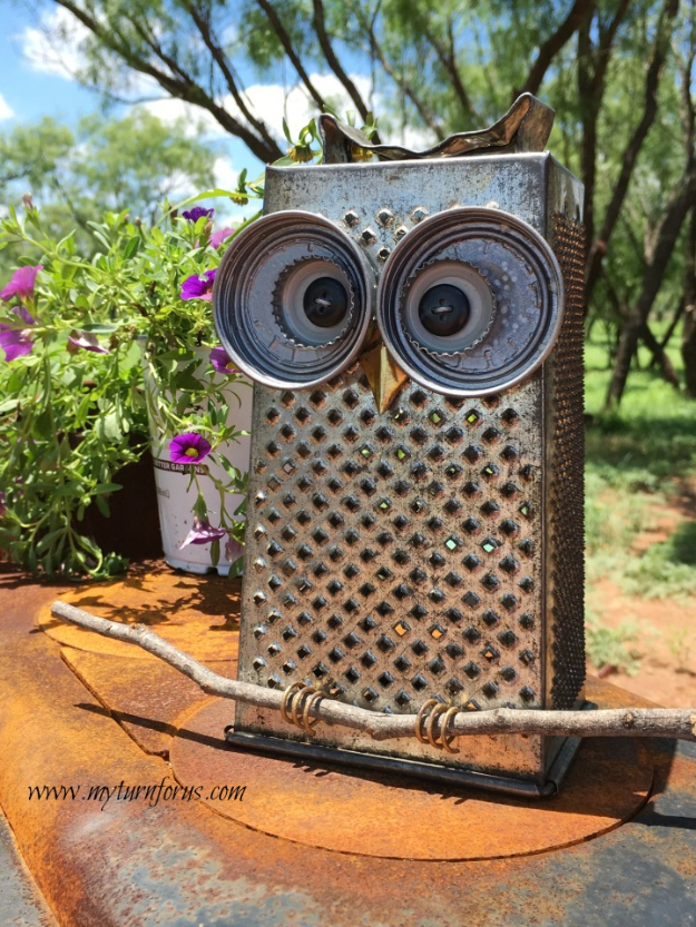 Garden Art Ideas From Junk Repurposed
