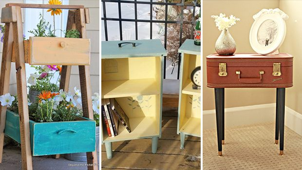 15 Chic DIY Furniture Projects That Will Upcycle Your Old Stuff