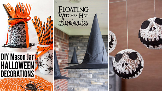 15 effortless diy halloween party decorations you can make in no time - Halloween Decorations You Can Make