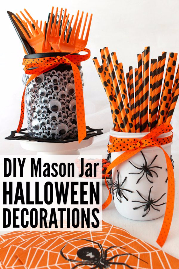 Halloween decorations that you can make at home halloween for Halloween decorations you can make at home