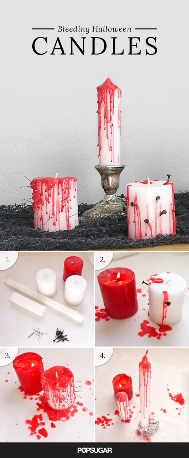 15 effortless diy halloween party decorations you can make Diy halloween party decorations