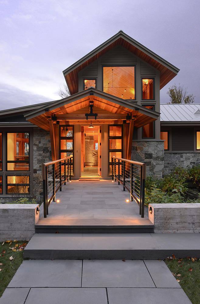 Mountain Architects Hendricks: 15 Enticing Rustic Entrance Designs That Will Tempt You To