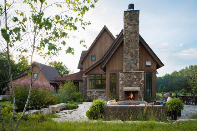15 Spectacular Rustic Exterior Designs That You Must See