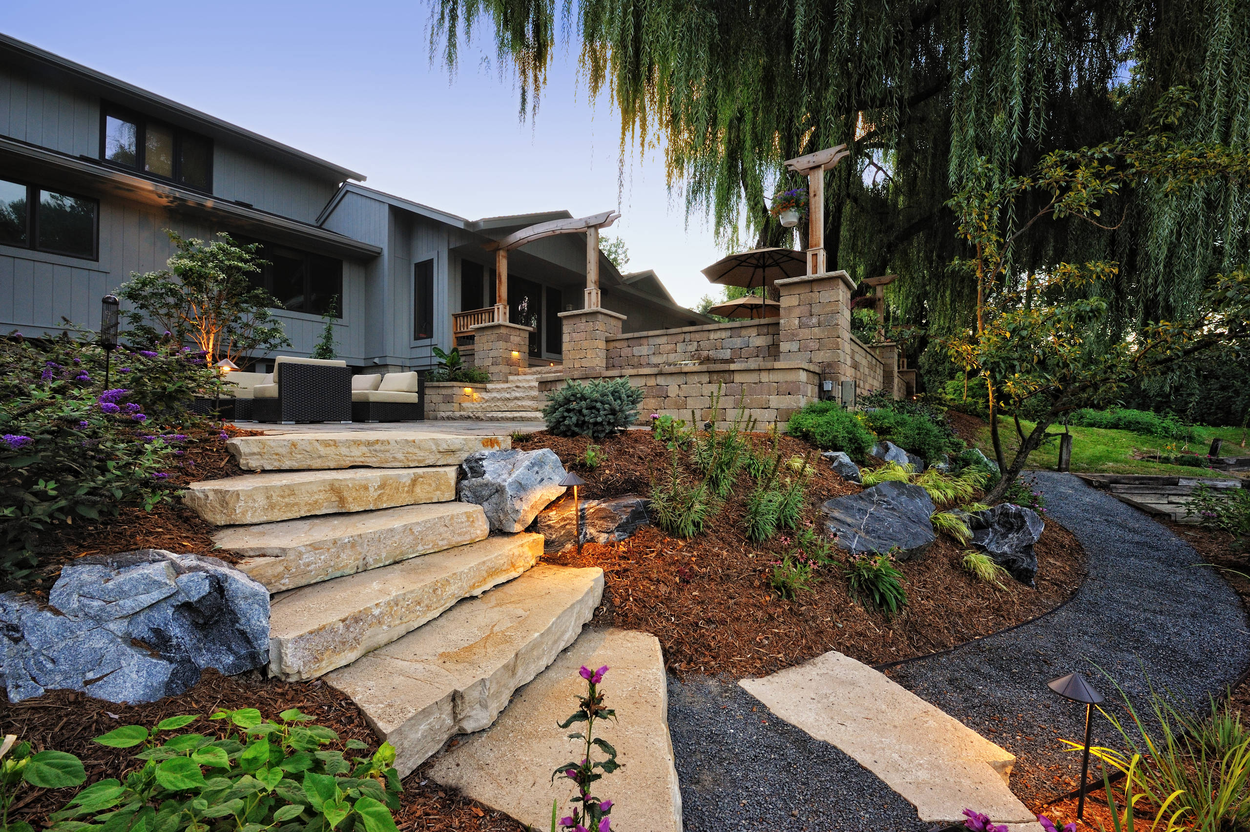 15 stunning rustic landscape designs that will take your Best backyard landscape designs
