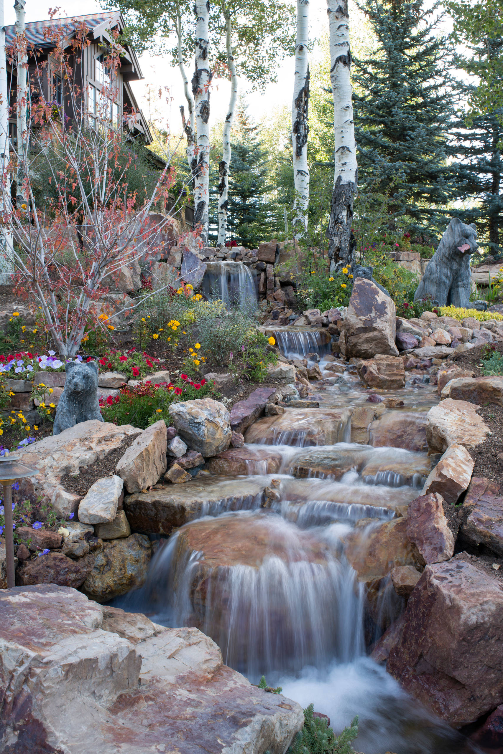 15 Stunning Rustic Landscape Designs That Will Take Your ... on Rock Garden Waterfall Ideas id=57866