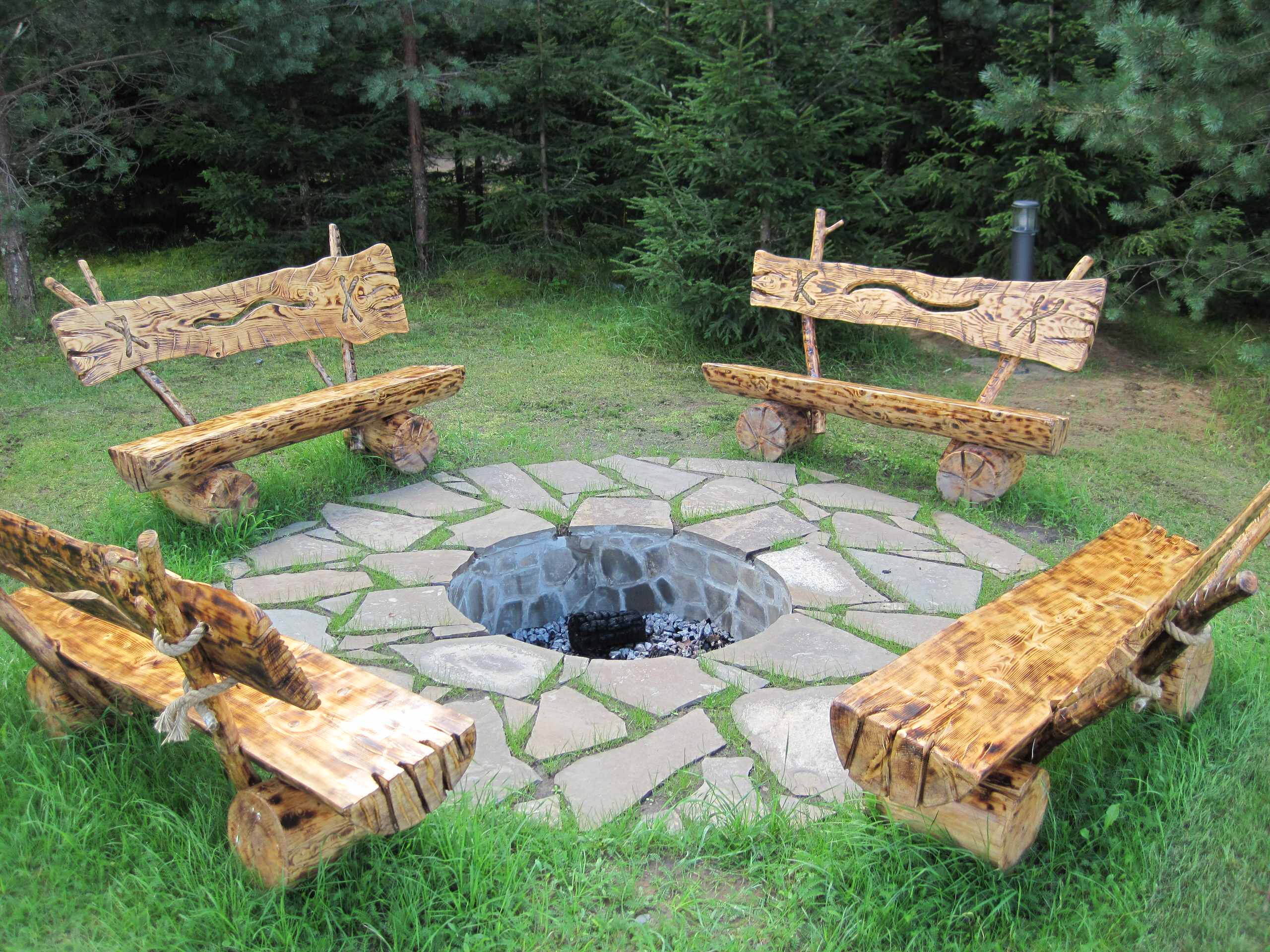 15 Stunning Rustic Landscape Designs That Will Take Your ... on Rustic Backyard Ideas id=41232