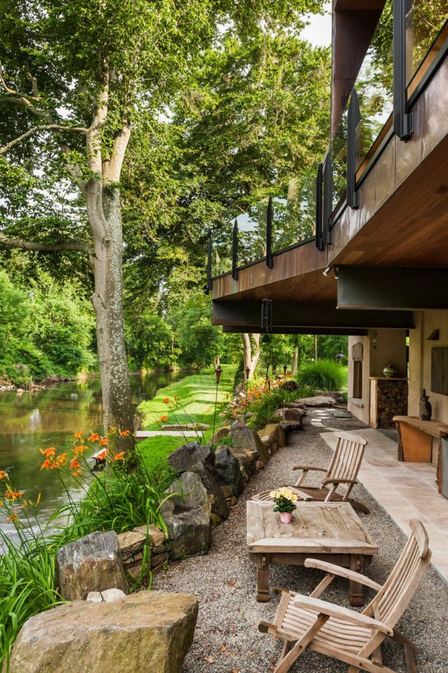 15 Stunning Rustic Landscape Designs That Will Take Your ... on Rustic Backyard Ideas id=53978