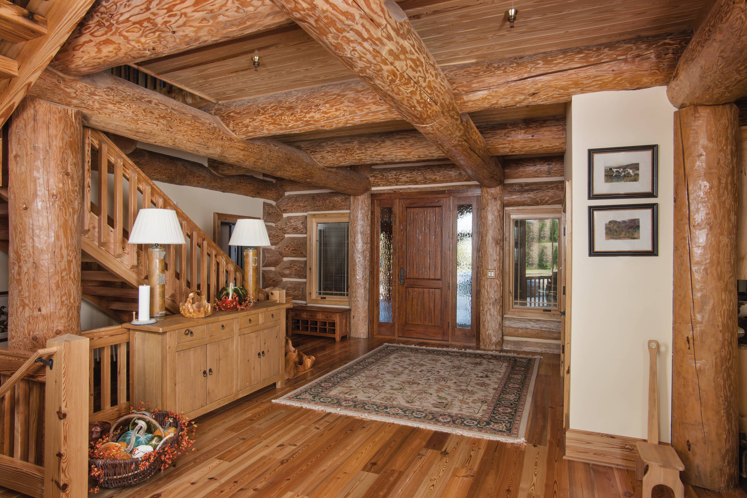 Rustic Entry Foyer : Welcoming rustic entry hall designs you re going to adore