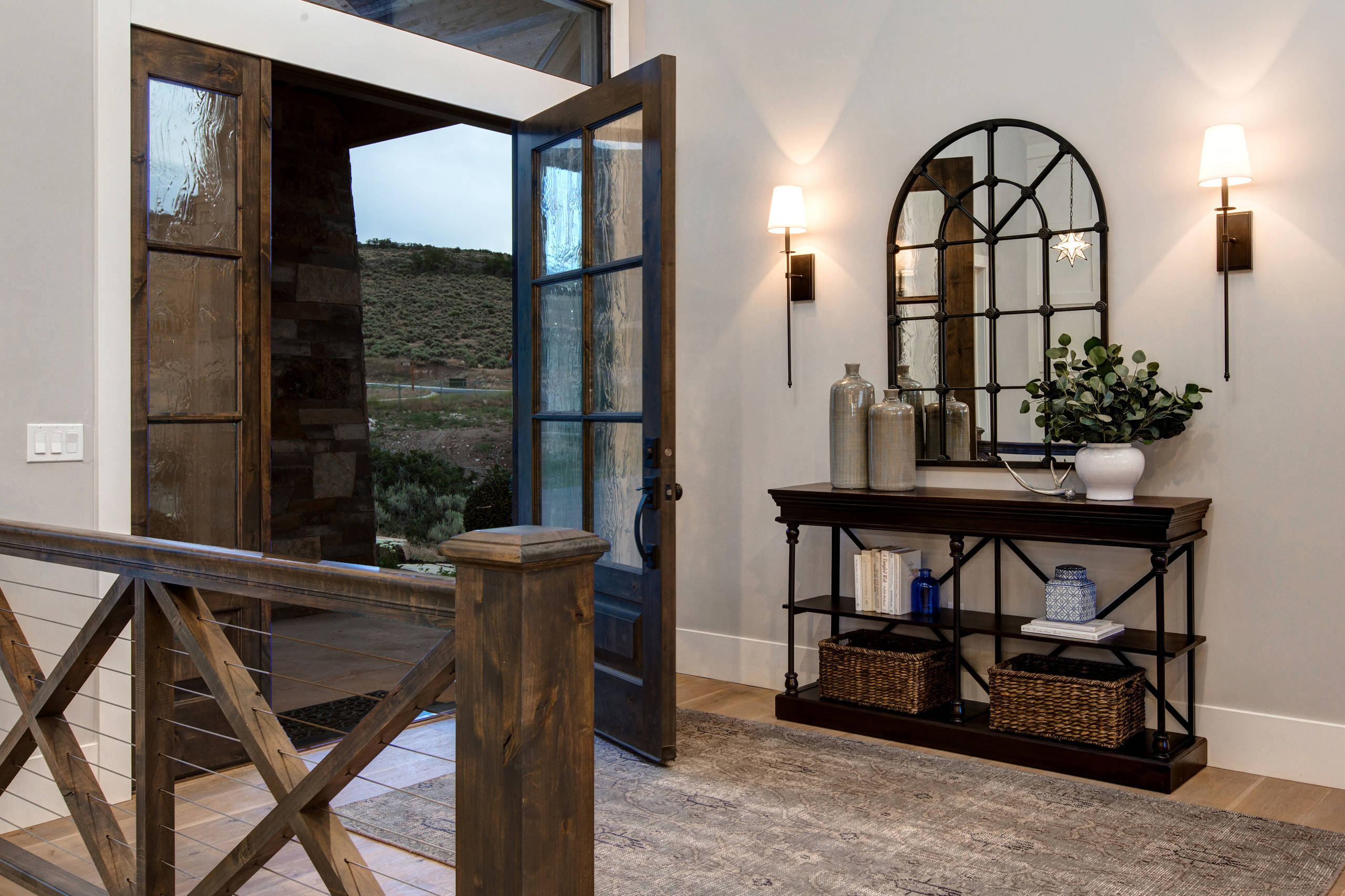 Rustic Entryway Designs : Welcoming rustic entry hall designs you re going to adore