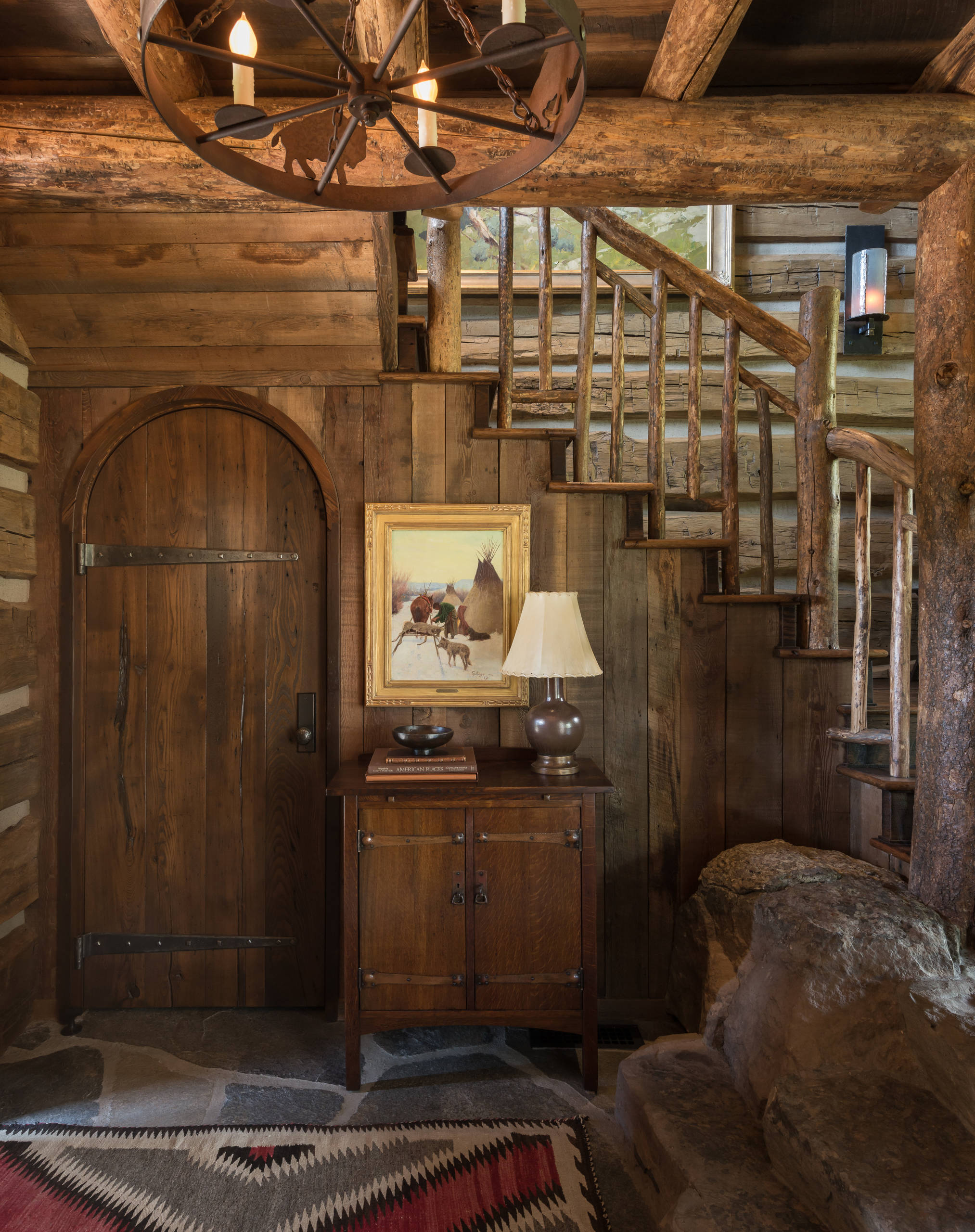 15 Welcoming Rustic Entry Hall Designs You Re Going To Adore