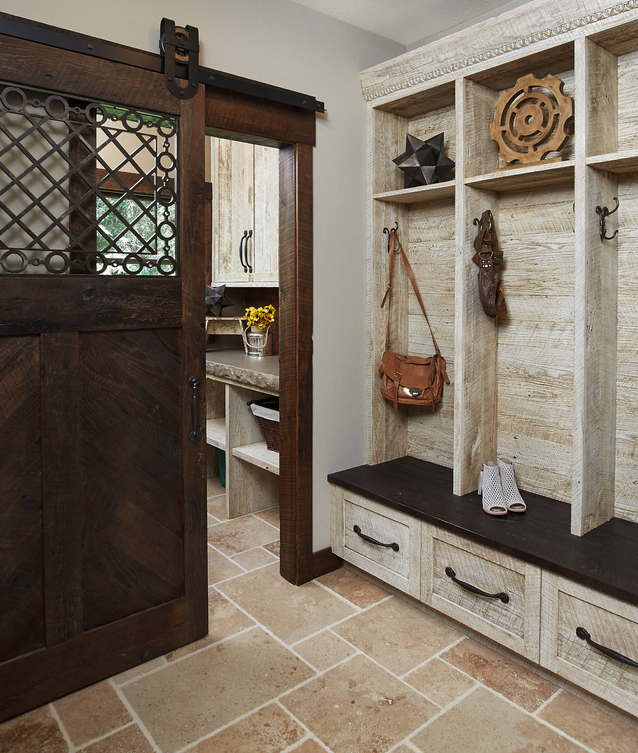Front Mud Room Entrance