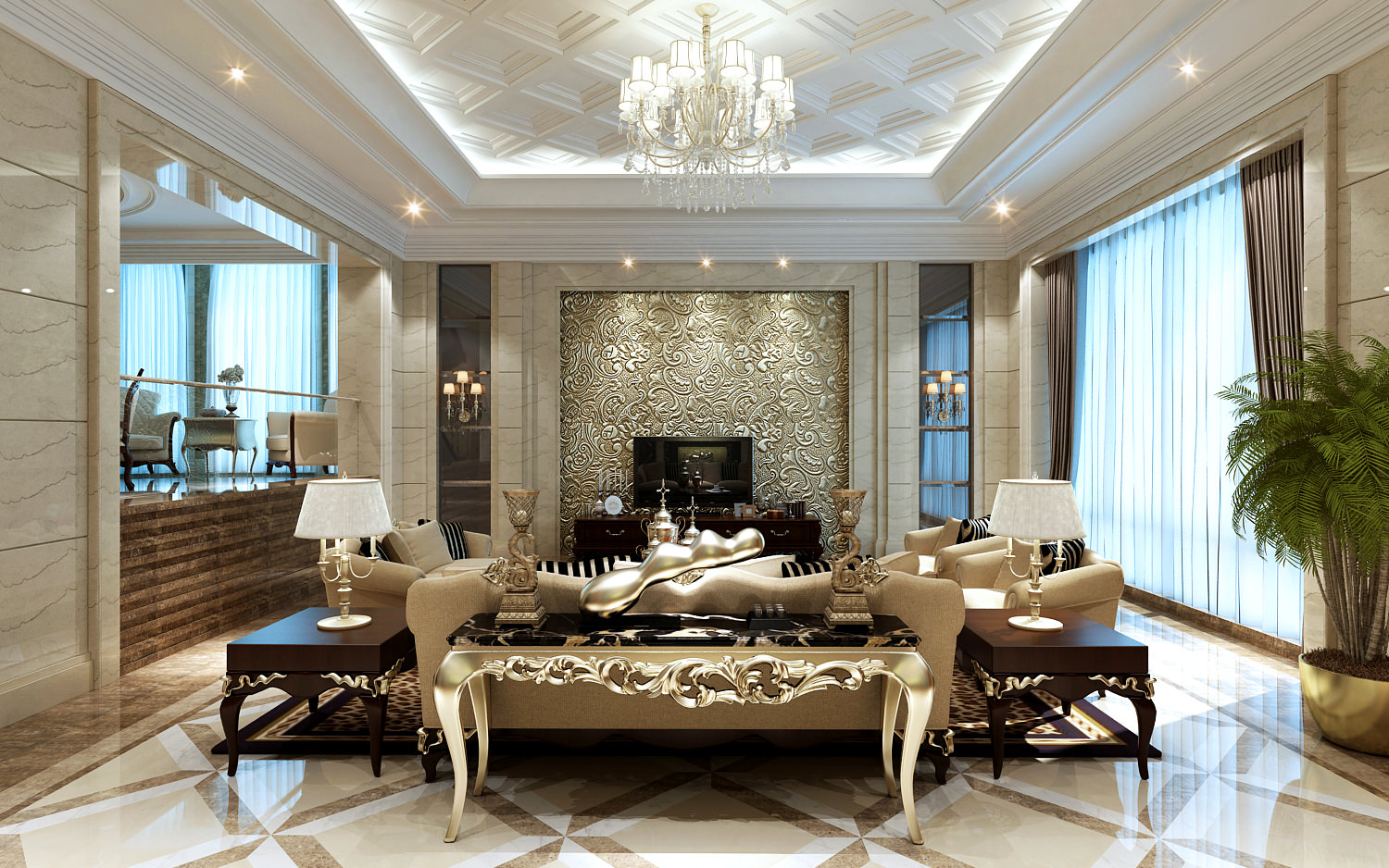 19 divine luxury living room ideas that will leave you for Exclusive living room designs