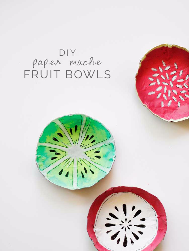 fruit bowls ideas amazing diy ideas from old dishes that you can easily make