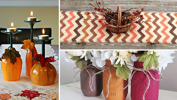 16 Beautiful Handmade Thanksgiving Decoration Ideas You