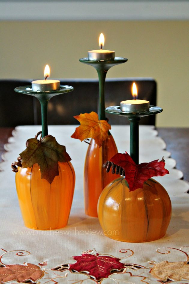 16 Beautiful Handmade Thanksgiving Decoration Ideas You Can Use