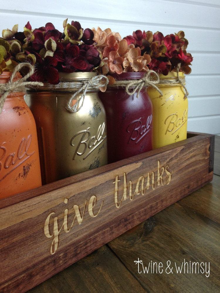 Charming handmade thanksgiving centerpiece ideas that