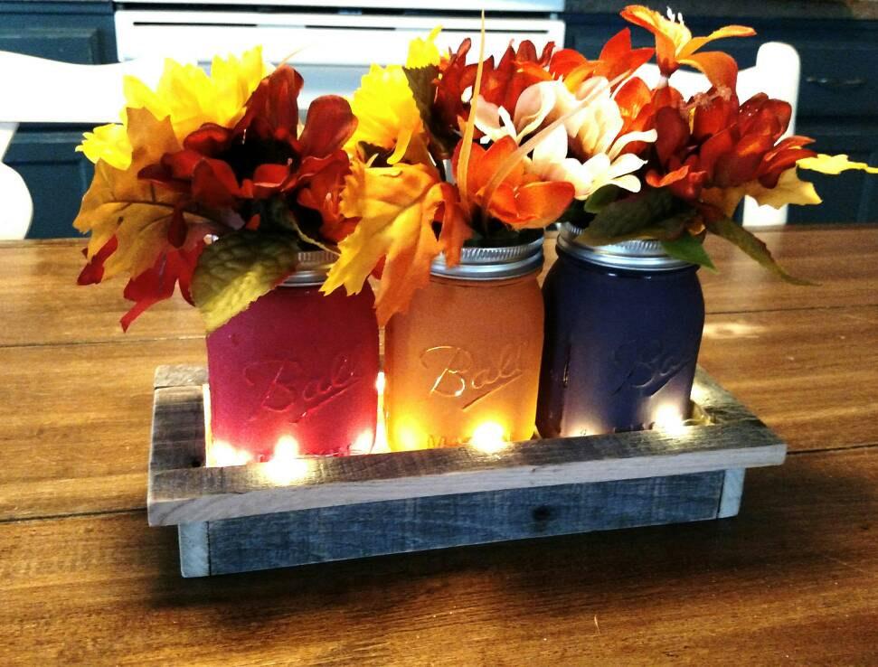 16 Charming Handmade Thanksgiving Centerpiece Ideas That