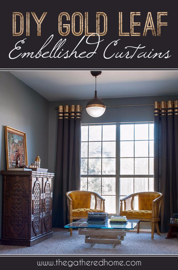 16 Creative DIY Curtains Ideas Everyone Can Make