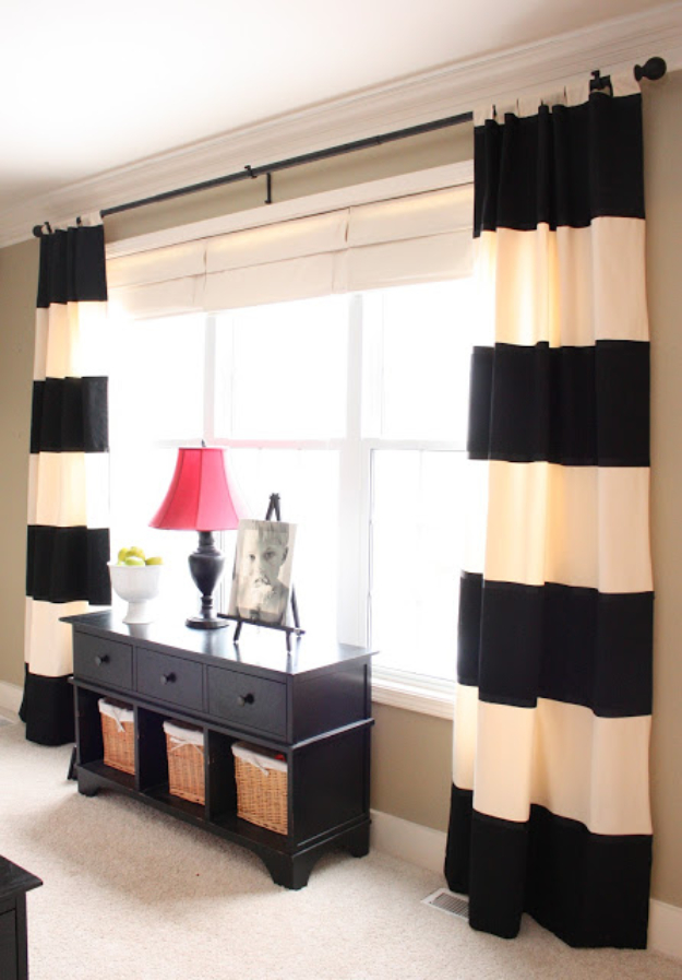 16 Creative DIY Curtains Ideas Everyone Can Make