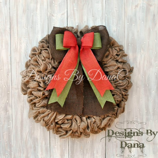 16 Whimsical Handmade Thanksgiving Wreath Designs For Your Front Door