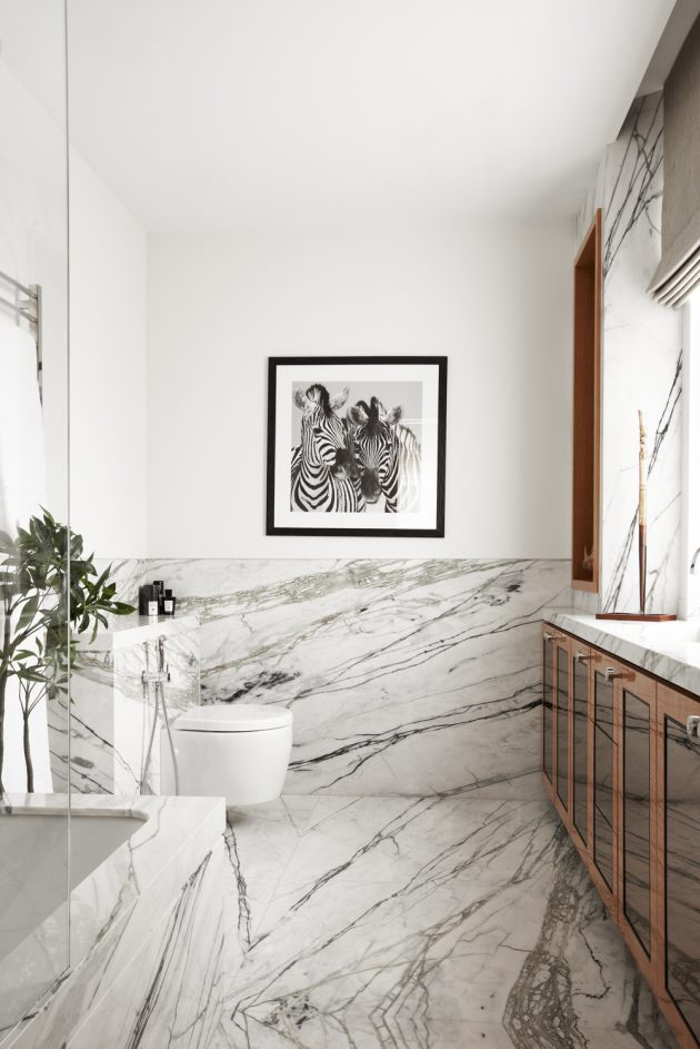18 Dreamy Marble Bathrooms To Serve You As Inspiration