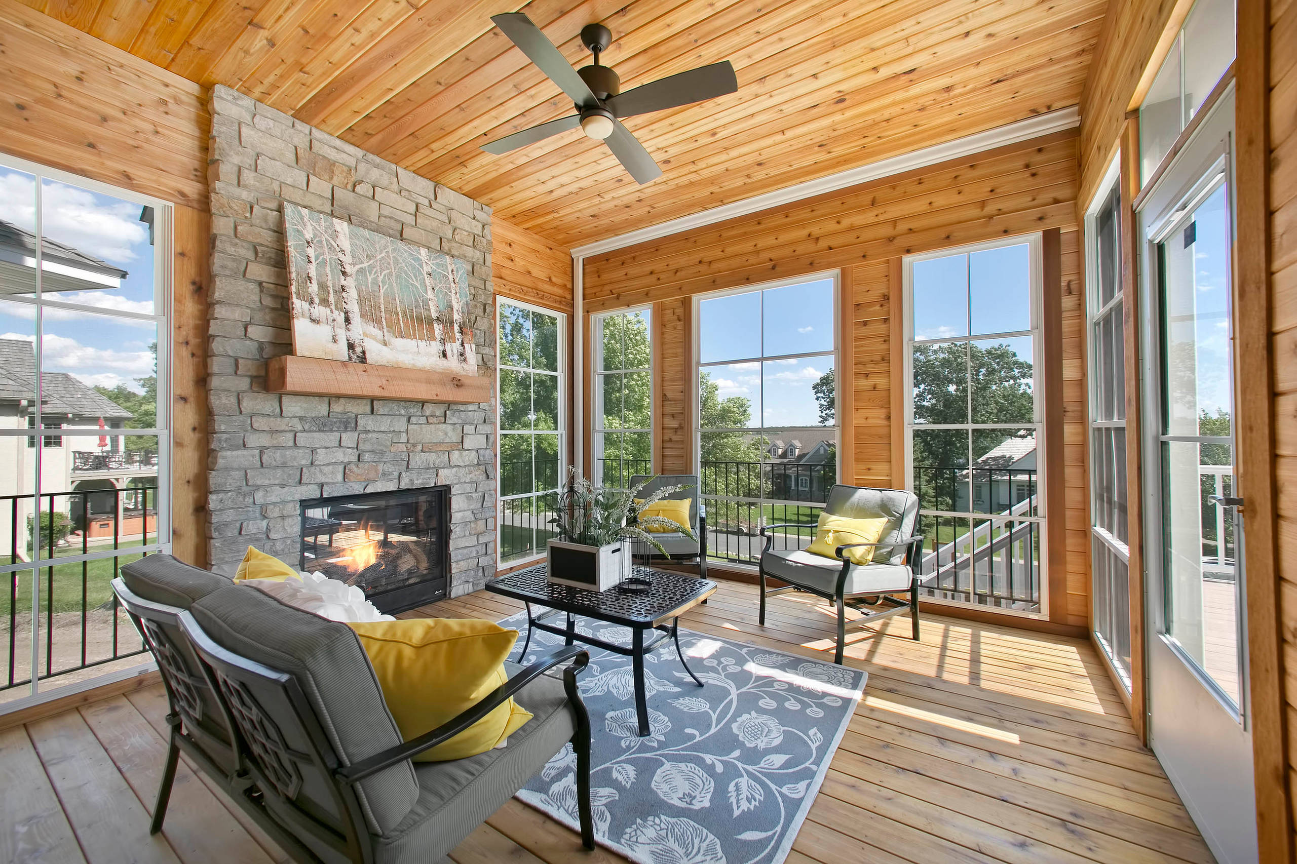 17 Unbelievable Rustic Porch Designs That Will Make Your ...