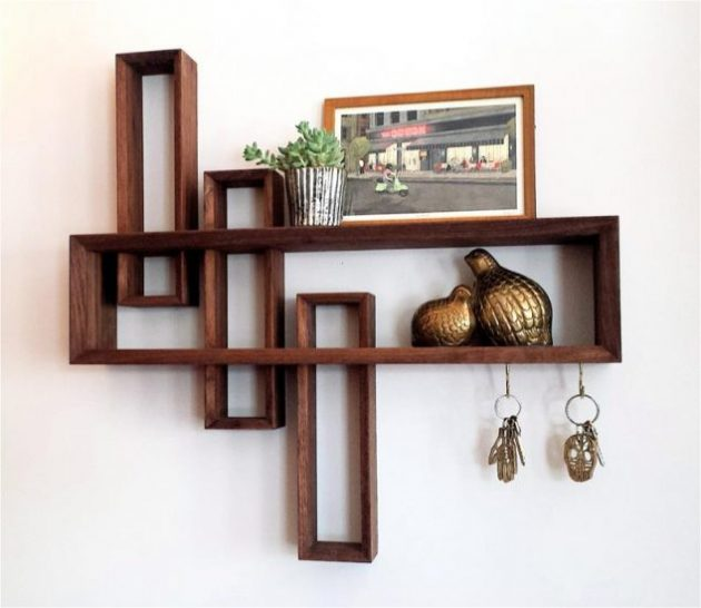 18 cool contemporary shelves designs that you shouldn 39 t miss Cool wood shelf ideas