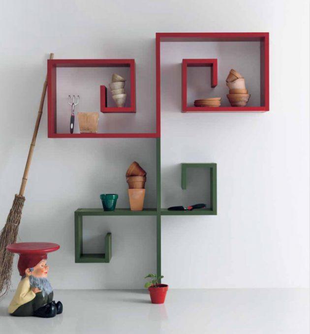18 Cool Contemporary Shelves Designs