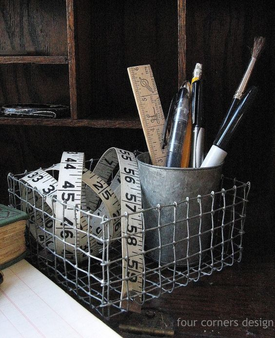 18 Creative Ways To Reuse Old Wire Baskets That You Need To See