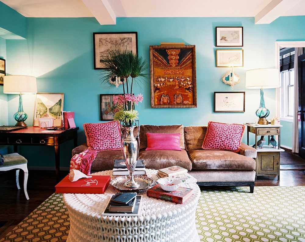 15 Playful Living Room Designs In Boho Style on Boho Room Decor  id=85579