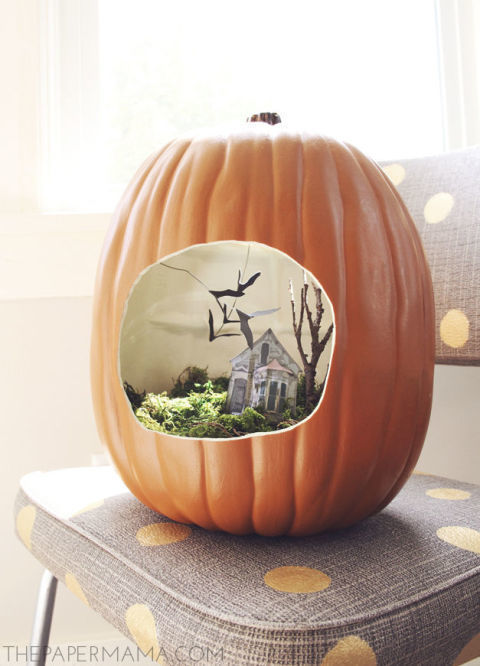 Pumpkin Diorama New Astonishing Trend To Decorate Your Pumpkins This Fall
