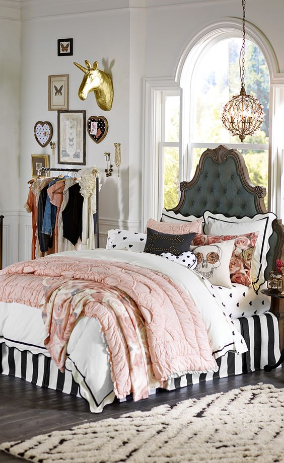 19 divine teen bedroom designs in vintage style that you shouldn 39 t miss - Cute teen room decor ...