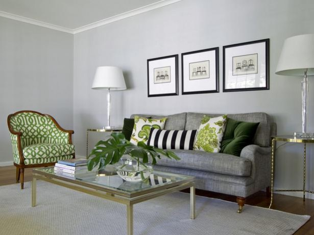 20 Really Amusing Living Rooms With Combinations Of Grey Green