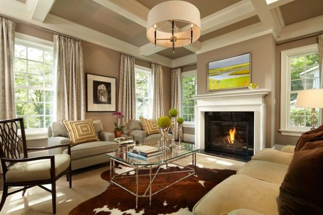 Chic Elegance Of Neutral Colors For The Living Room 10 Amazing Examples: 19 Alluring Neutral Living Room Designs That Will Delight You