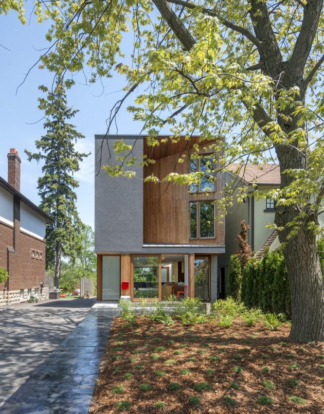 Bala Line House by Williamson Chong Architects in Toronto, Canada