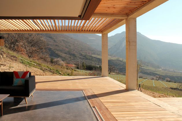 Bellecombe Holiday House by ACAU in Bellecombe, France