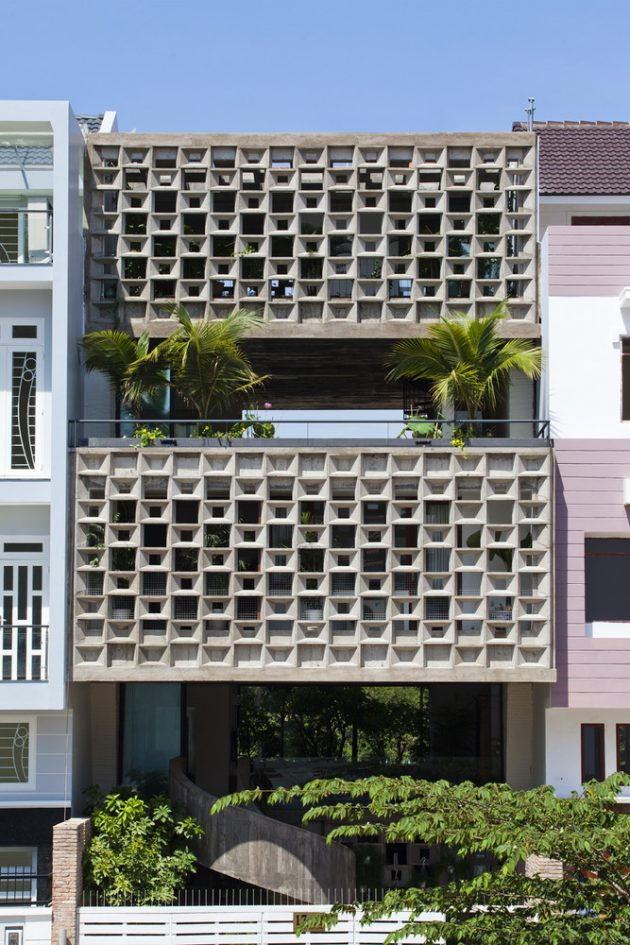 Binh Thanh House by Vo Trong Nghia Architects ...
