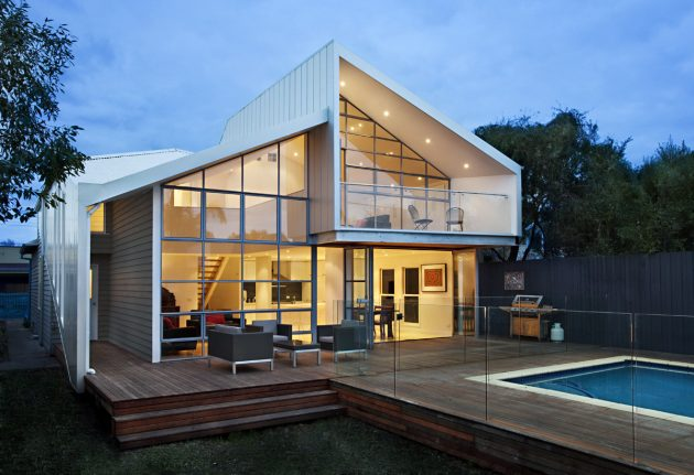 Blurred House by BiLD Architecture in Melbourne, Australia