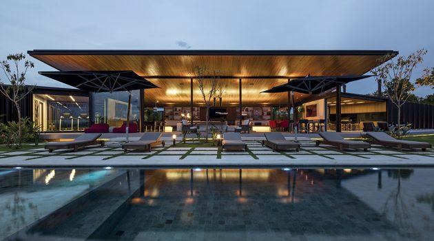 CA House by Jacobsen Arquitetura in Bragança Paulista, Brazil