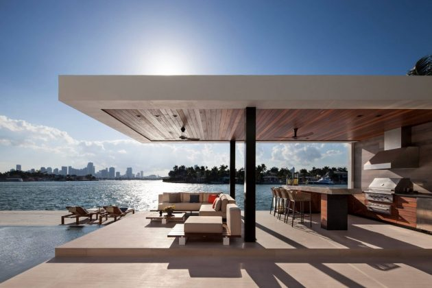 Casa Clara by Charlotte Dunagan Design Group in Miami Beach, Florida