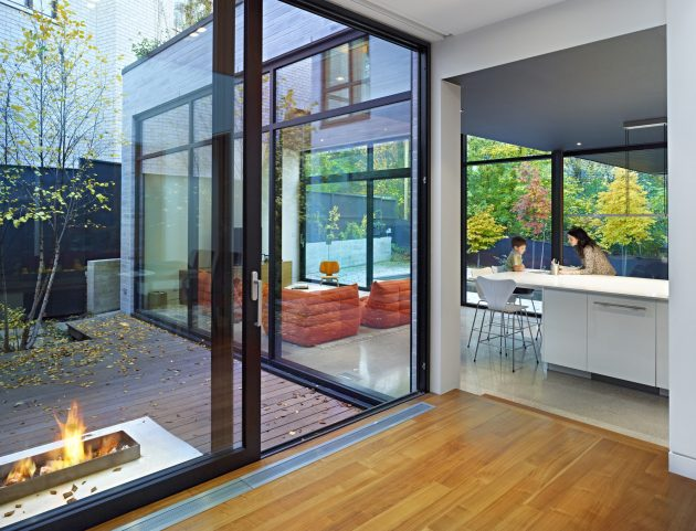 Cedarvale Ravine House by Drew Mandel Architects in Toronto, Canada
