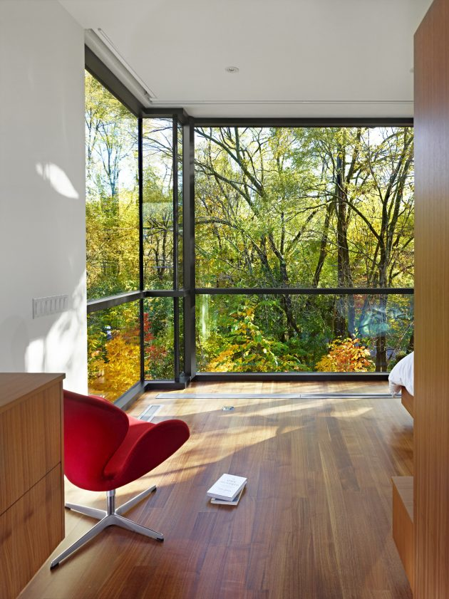 Cedarvale Ravine House by Drew Mandel Architects in Toronto, Canada