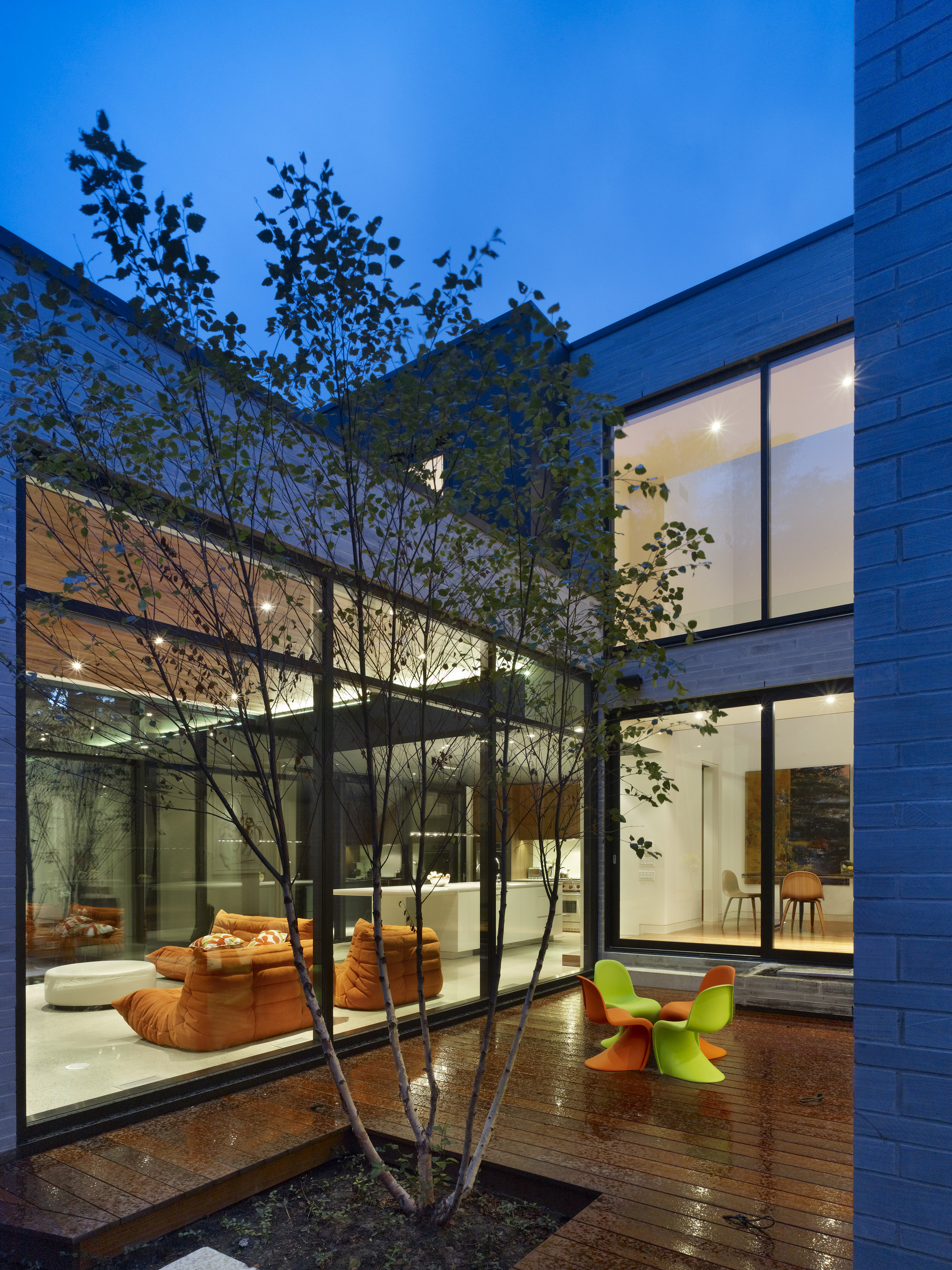 Cedarvale Ravine House By Drew Mandel Architects In