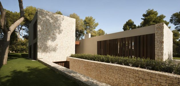 El Bosque House by Ramon Esteve in Valencia, Spain