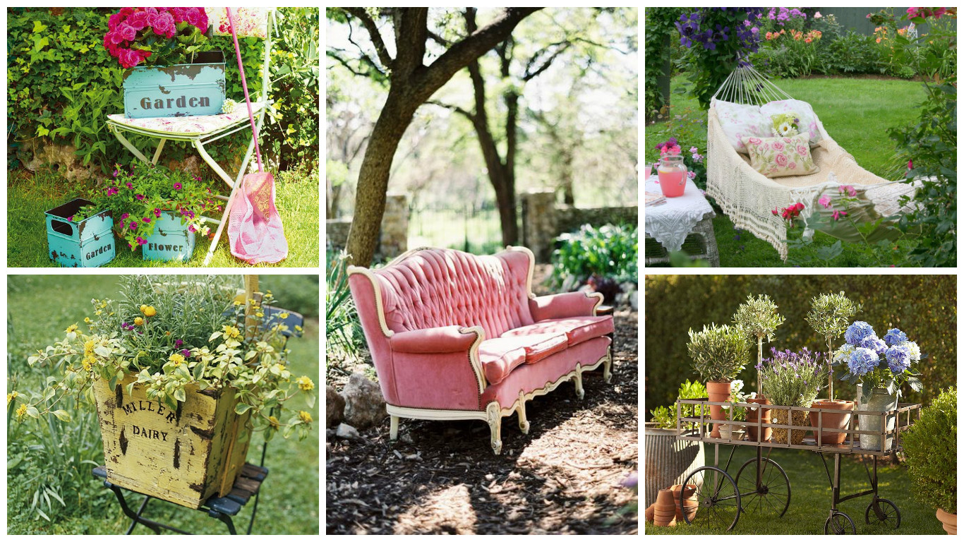 17 alluring vintage decor ideas to enhance the appearance of your garden - Garden ideas vintage ...