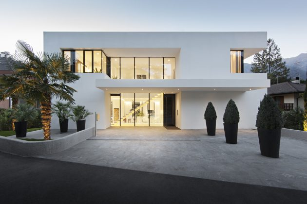 House M by monovolume Architecture + Design in Meran, Italy