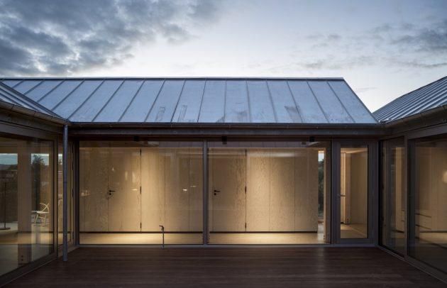 House at Mols Hills by Lenschow & Pihlmann in Ebeltoft, Denmark
