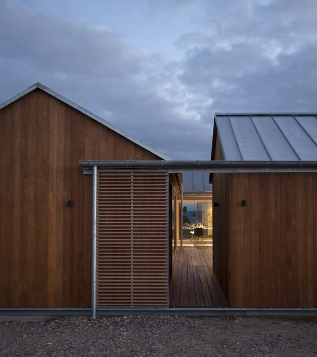 House at Mols Hills by Lenschow & Pihlmann in Ebeltoft, Denmark