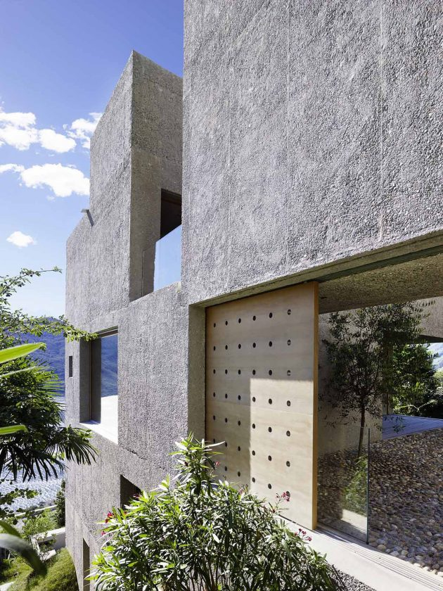 House in Brissago by Wespi de Meuron Romeo Architects in Switzerland